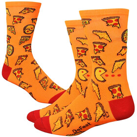 "DeFeet Aireator 6"" Chaussettes, pizza party"